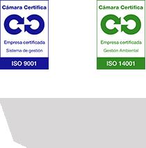 Certificación ISO 9001, ISO 14001 y Eurovent